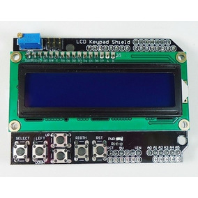 Display Lcd Keypad Shield 16x2 1602 Teclado Botoes Arduino