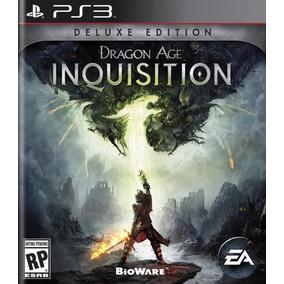 Dragon Age Inquisition Deluxe Edition - Ps3 - Português Psn