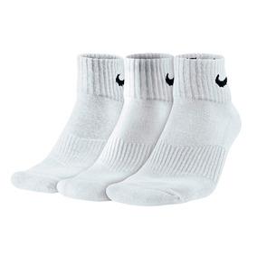 Kit 3 Pares De Meias Nike 34 Ao 43 4703 Cano Médio Algodão
