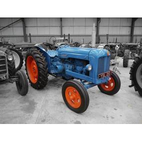 Manual De Taller Tractor Fordson Major En Pdf