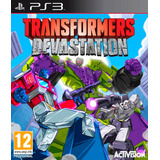 Transformers Devastation Ps3 Digital Español Gcp