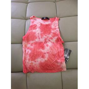 Blusa Color Rosa Talla Ch S