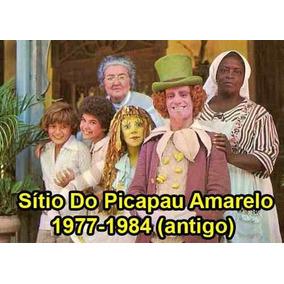 Sítio Do Picapau Amarelo 1977-1984 (antigo)-12 Hist. 39 Dvds