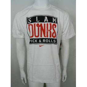 Nike Playera Modelo Slam Dunks Picks And Rolls Nueva Xl