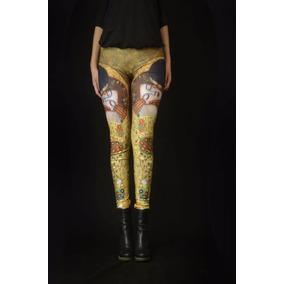 El Beso - Klimt - Leggings Arte