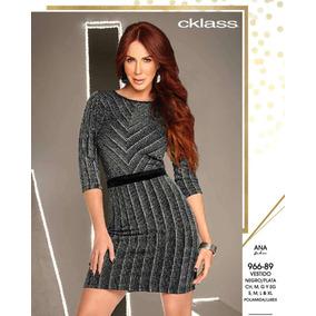 43c25732a Vestido Corto Tejido Negro Vestidos Cortos Mujer - Vestidos de Mujer ...