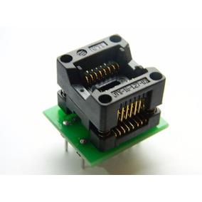 Adaptador Soic16 Sop16 To Dip16 150mil P Gravadores De Eprom