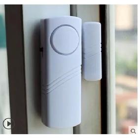 Kit Com 8 Alarme Sensor Magnético S/fio Portas Janelas Seg
