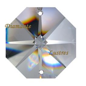 100 Castanhas 18 Mm Cristal K9 Legítimo Lustres Bijuterias