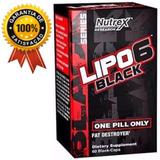 Lipo 6 Black Nutrex Termogênico 60 Cap Original Lacrado !!!