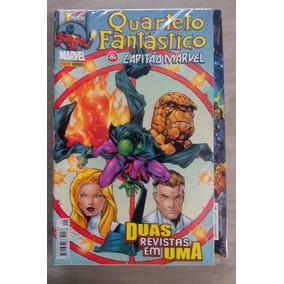 Quarteto Fantástico E Capitão Marvel (18 Volumes)