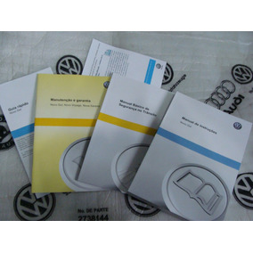 Kit Completo Manual Proprietário Gol G6 - Vw Novo Lacrado !