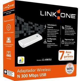 Adaptador Wireless N 300m Usb L1-aw3u