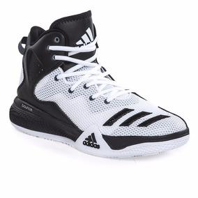 5cc6096a7 Zapatillas Adidas Dt Bball Mid Gris - Zapatillas Básquet en Mercado ...