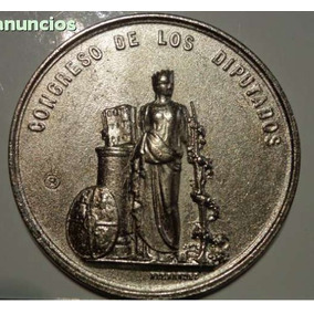 Medalha Congreso De Los Diputados De Anõ 1858
