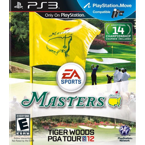 Ps3 Jogo Masters Tiger Woods Pga Tour 12 Lacrado Original