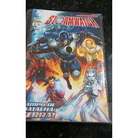 Hqs Stormwatch - Vols 1 E 2 !!!