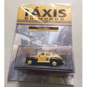 Miniatura Ford Fordor Ny 1947 Coleção Táxis Do Mundo