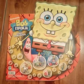 Album De Figurinhas Bob Esponja (2009). Faltam Apenas 3 Fig