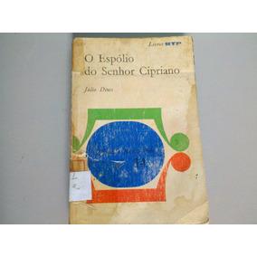 Livro O Espólio Do Senhor Cipriano E Outras Novelas