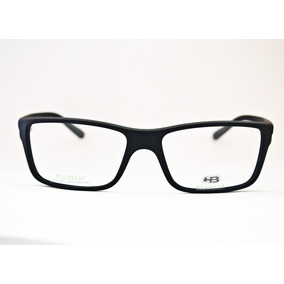 Armação Oculos Hb 93108 - Óculos Preto no Mercado Livre Brasil a24b62bd39