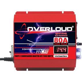 Fonte Automotiva Overloud 80a Bivolt Carregador Bateria Som