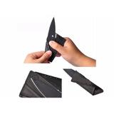 Faca Cartão Canivete Dobrável Camping Multifunção Cardsharp