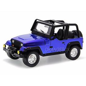 Jeep Wrangler 1992 Jada Toys 1:24 Azul Jad-98081-az