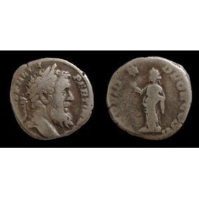 *wm* Raríssimo Denarius De Pertinax - 193 Dc - Império Roma