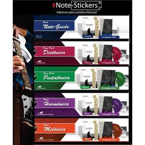 Nota/adesivo Musical Note-stickers Para Guitarra/violão Aço