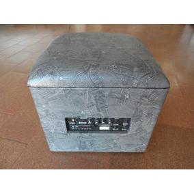 Amp Lounge Cube Estampa Jeans