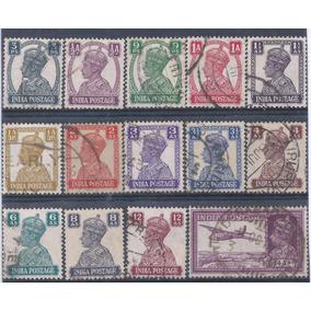2584 - India 1940-43 Rei George Vi Serie Completa