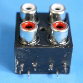 Conector Aux/l-r Para Caixa Amplificada Lenoxx Ca-318