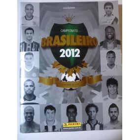 Album Figurinhas Campeonato Brasileiro 2012 Completo Colado