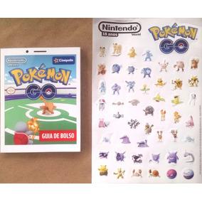 Guia De Bolso Pokémon Com Adesivos Grátis - Novo!!