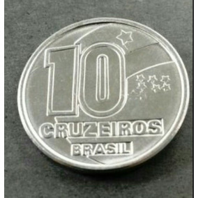Moeda De 10 Cruzeiros Antiga - 1990 - Frete Grátis!