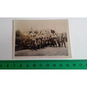 Foto Original Soldados 2ª Guerra Mundial Rancho