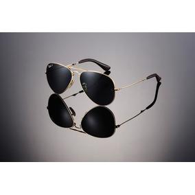 Oculos De Sol Modelo Aviador Thc Masculino Preto Com Dourado 4525851f75