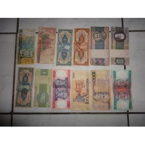 Varias Cédulas Antigas Brasileiras