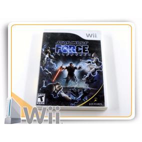 Wii Star Wars Force Unleashed Original Nintendo Wii