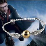 Pulseras Harry Potter Reliquia De La Muerte Unisex Snitch