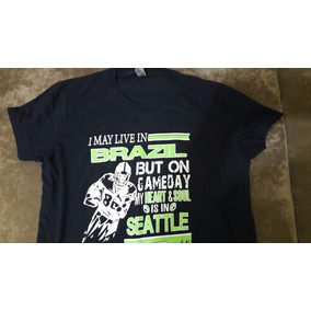 6bcf4f78d Camisa Seattle Seahawks Sherman - Camisas no Mercado Livre Brasil