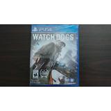 Watch Dogs Ps4 Nuevo Sellado