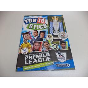 Premier League 2014 / 2015 Album De Figurinhas Completo