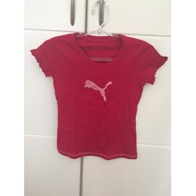 Lindinha!! Camiseta Puma Kids - 12 Anos