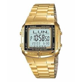 1394dcff52f Relogio Casio Databank 30tel Dourado - Relógios De Pulso no Mercado ...