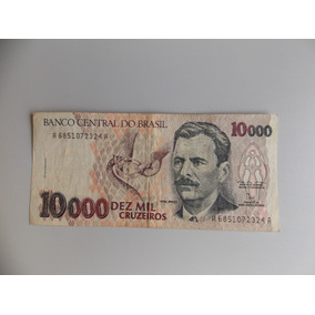 Cédula De 10 000 Cruzeiros, Vital Brazil, Estado De Sob.