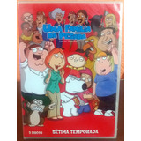Uma Família Da Pesada - Family Guy 7ª Temporada - 3 Discos