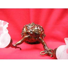 Arandela Anjo De Petit Bronze ( Cod 248 )