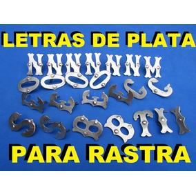 Cuchillo - Facon Letras De Plata Para Rastra